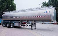 Aluminium Alloy Crude Oil Tank Trailer