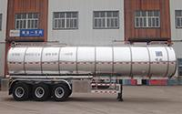Aluminum Alloy Cooking Oil Tank Trailer