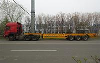 Tri Axle Steel Skeletal Trailer