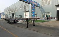 Tri Axle Aluminium Alloy Skeletal Trailer